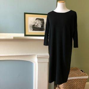 Boden Black Cashmere Sweater Dress